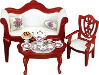 Reutter Porcelain Dollhouse Miniature  Coffee Table (ONLY)