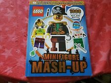 NEW DK Ultimate Sticker Collection: LEGO Minifigure: Mash Up!