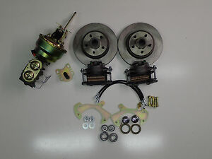 1965-1968 Ford Galaxie power front disc brake conversion kit