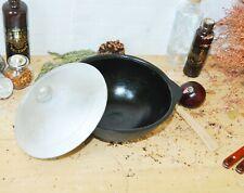 3,5 L woktopf Kazan chinawok gusswok Wok Cast iron with lid//pan 26cm