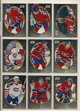 1996-97 Summit Foil Montreal Canadiens Team Set (9)