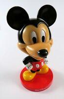 "Vintage Walt Disney World Resort - Mickey Mouse Bobble Head 8"" Plastic"