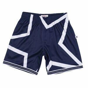 Mitchell & Ness DALLAS COWBOYS BLUE Navy White STAR Big Face SWINGMAN Shorts