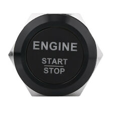12V Waterproof Car Engine Start Push Button Switch Ignition Starter w/ White LED