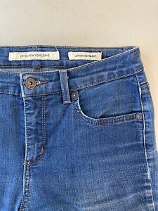 Jones New York Women's Jeans Lexington Straight Regular Size 4