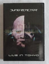 Juno Reactor - Live In Tokyo DVD, 2005, Metropolos - MET 265