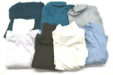 Wholesale Bulk Women's Medium Various Brands Turtleneck Sweaters Lot of 7