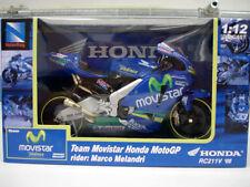 New Ray 1:12 Diecast Team Movistar Honda RC211V  Melandri/Gibernau Set MotoGP