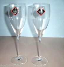 Riedel Vinum Champagne Flute(s) Pair Crystal #4016/28 Restaurant Germany New