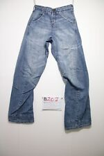 Levi's engineered 619 (Cod.B207) T. 40 W26 L32 Mujer vaqueros usados destroy