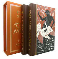 Robert Graves THE GREEK MYTHS In Two Volumes 1st Edition 8th Printing