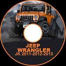 JEEP WRANGLER JK series 2011-2012-2013-2014 REPAIR WORKSHOP SERVICE MANUAL CD