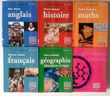 COLLEGE Histoire Physique Maths Anglais Géographie Francais - de la cité