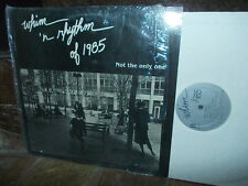 WHIM 'N RYTHM of 1985: Not the only one (female jazz chorus) / Canada LP exc