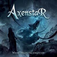 AXENSTAR - WHERE DREAMS ARE FORGOTTEN  CD NEU