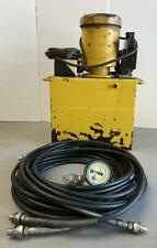 ENERPAC HYDRAULIC ELECTRIC POWER PACK W/ SOLENOID VALVE FOR DOUBLE ACTING