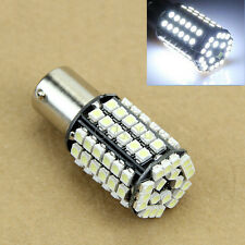 2x 1156 BA15S P21W 80 SMD Xenon White Car Tail Turn Reverse LED Bulb Lamp Light