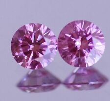 0.45 CT FANCY PURPLE PINK DIAMOND COLOR ENHANCED HPHT NATURAL LOOSE ASAAR