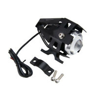 125W Black Motorcycle U5 LED Headlight Driving Fog Spot Light Lamp