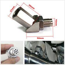 Car 45° O2 Sensor Adapter Catalytic Exhaust Spacer Bung Fix Check Engine Light
