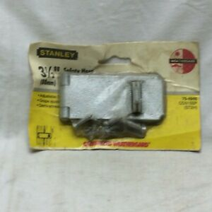 """Stanley 3 1/2"""" Safety Hasp Galvanized New Old Stock"""