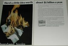 1970 General Dynamics 2-page ad, DatagraphiX Microfilm