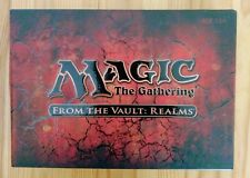 Magic the Gathering From the Vault: Realms. Sealed in box