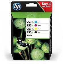 Genuine High Capacity 4 Colour HP 953xl Ink Cartridge Multipack - 3hz52ae