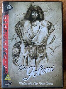 Der Golem DVD 1920 German Expressionism Silent Horror Movie Classic