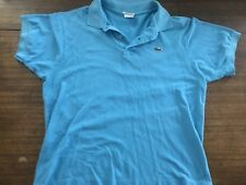 LACOSTE MENS SIZE 6 POLO BABY BLUE shirt