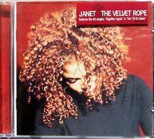 JANET JACKSON The Velvet Rope CD Album 1997 WIE NEU Together Again 90´s R&B Hits