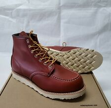 1st Quality Red Wing Moc Toe Oro Russet Portage 8131 Boots 875 Iron Ranger 10.5E