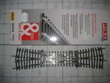 PIKO 55224 - A-Gleis HO 2,5mm - DKW - Doppelkreuzungsweiche 15° - Länge 239mm