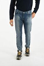 ARMANI men Jeans Sz 34 EMPORIO J06 Denim Straight Pants Slim Fit Five Pockets
