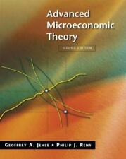 Advanced Microeconomic Theory. 2nd edition. Jehle and Reny
