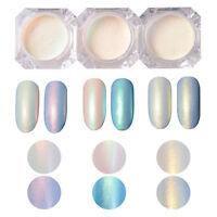 BORN PRETTY 2g/Box Nail Art Glitter Pearl Dust Powder Shining