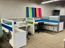 Herman Miller Canvas 6x6 Cubicles With Rainbow Of Color Options
