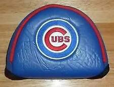 Chicago Cubs MLB Official Mallet Putter Golf Head Cover, Embroidered