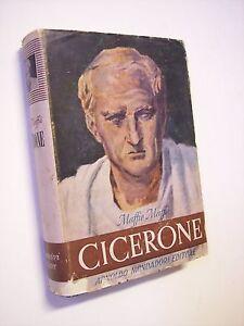 MAFFII Maffio: CICERONE E IL SUO DRAMMA POLITICO, Mondadori 1944, biografie
