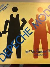"DEPECHE MODE-GET THE BALANCE RIGHT MAXI SINGLE 12"" VINILO 1983 SPANISH PROMOTION"