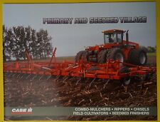Case IH Primary and Seedbed Tillage Dealer's Brochure