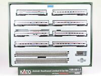N Scale Kato Kobo Custom 106-081-1 Amtrak Southwest 8-Car Passenger Set