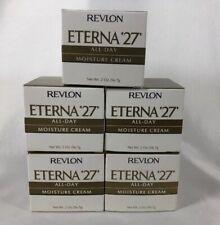 Revlon Eterna '27' Moisture Cream - 2 Ounce (Pack Of 5)