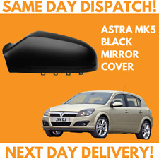 Vauxhall Astra H 2004-2009 Wing Mirror Cover Black N/S Passengers Side Left
