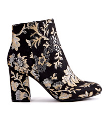 cb75f53988c JustFab Floral Boots for Women   eBay