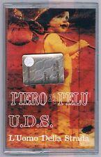 PIERO PELU' U.D.S. L'UOMO DELLA STRADA MC K7 MUSICASSETTA SIGILLATA!!!