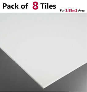 SUSPENDED VINYL CEILING Tiles 600 x 600 LAMINATED WIPEABLE EASYCLEAN 595 x 595