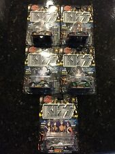 KISS ROCK COMPLETE SET OF 5 KISS VIPER CARS IN ORIGINAL PACKAGES