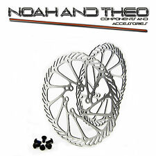 410 Stainless Steel MTB Bicycle Disc Brake Rotor 160mm Race Model incl. bolts