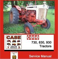 CASE INTERNATIONAL 730 830 930 CK Draft O Matic Tractor Shop Service Manual CD